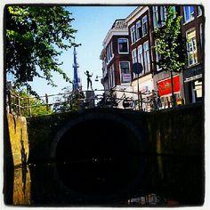 Leeuwarden by boat