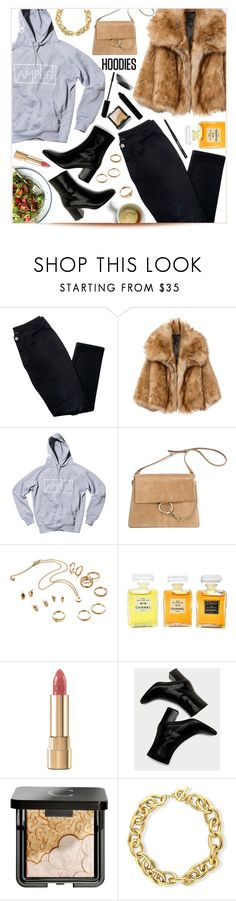 """""""Lunch Time🥗 5-1-2018"""" by anamarija00 ❤ liked on Polyvore featuring Avon, Chanel, Dolce&Gabbana, Chantecaille, BERRICLE and Hoodies"""