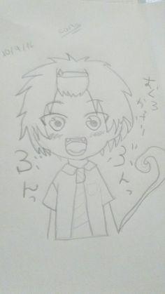 Rin okumura Chibi blue exsorcist