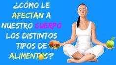 ¿Cómo afectan a nuestro cuerpo los diferentes tipos de alimentos?