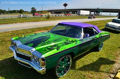 Old School Candy Paint Cars | on the car done by auto extreme s in conyers ga short clip of the car ...