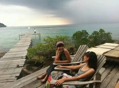 Koh Kood Island is located in theSouth East part of Thailand,rain coming!!!
