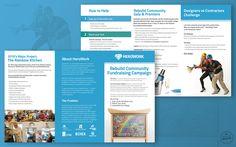 Charitable Organization Rack Card Design