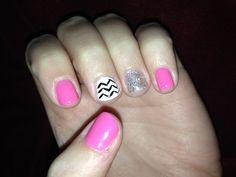$25 shellac nails at Mohegan Nail...design included! In Omaha, NE