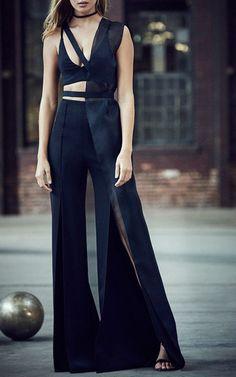 Silk Organza Half Vest by Mulhier Couture Fashion, Runway Fashion, High Fashion, Fashion Show, Womens Fashion, Fashion Design, Fashion Black, Glamour, Dress To Impress