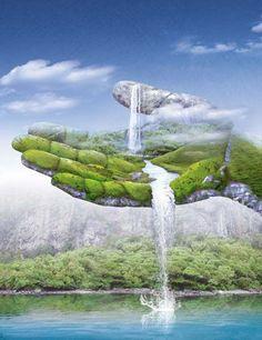 Art Abstracto Naturaleza Ideas For 2019 Illusion Kunst, Illusion Art, Beautiful Nature Wallpaper, Beautiful Landscapes, Illusion Paintings, Surreal Artwork, Surrealism Painting, Fantasy Kunst, Visionary Art