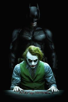A friend wanted me to paint this fairly common image from The Dark Knight. Though I don't feel like I broke new ground with the source material, it was . Joker and Batman Batman Joker Wallpaper, Joker Iphone Wallpaper, Joker Wallpapers, Marvel Wallpaper, Mobile Wallpaper, Der Joker, Heath Ledger Joker, Joker Art, Joker Images