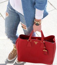 red prada bag- Prada handbags new collection http://www.justtrendygirls.com/prada-handbags-new-collection/