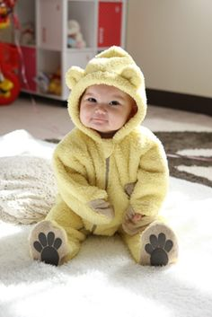 BabyGoose あったかくまさんの着ぐるみ #baby #mom #dad #family #gifl