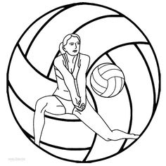 Resultado de imagen para dibujos de recepcion del voleibol