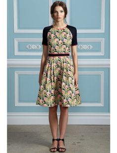Love the use of a William Morris inspired print.