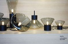 Black is back_Muffins lamps | by decor8