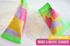 You don't have to be 'musical' to make music with your kids! Make a simple music shaker and try some of these easy music activities with your kids!