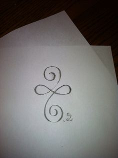 Beauty - sketch for my newest crazy idea: the 26.2 tattoo.