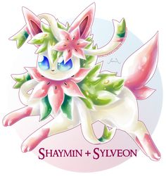 Shaymin X Sylveon by Seoxys6