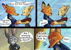 Comic: Reunion (by Softlight289) - Zootopia News Network