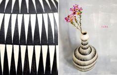 gretchen gretchen: Is It Vintage - Kupittaan Savi vase designed by Linnea Lehtonen