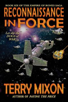 Reconnaissance in Force is the continuation of Paying The Price but in a way it also starts a new story arc in The Empire of Bones Saga universe. In the last book our heroes finally came back home …