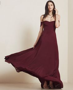 I think we need one in every color! The Constance Dress from Reformation. https://www.thereformation.com/products/constance-dress-merlot?utm_source=pinterest&utm_medium=paid&utm_campaign=WeddingChicksPromo