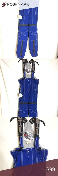 "Vtg Phenix Sports Bib Overalls Insulated Pants SM Vintage Phenix Sports Bib Overalls Insulated Winter Snow Ski Board Pants Men's size Small Color: royal blue  Normal signs of wear!  There is a small rip INSIDE the left leg ( see picture) and small Inside stains ...  other than that is in good conditions.  Approximate measurements:  Across the waist : 17"" (34"")  Approximate inseam: 31""  Adjustable straps  INSULATED Phenix Other Plus Fashion, Fashion Tips, Fashion Design, Fashion Trends, Bib Overalls, Snow Skiing, Winter Snow, Royal Blue"