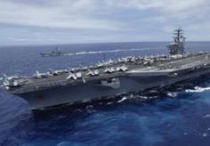 Image: The USS Nimitz aircraft carrier in Hawaii (© Reuters)
