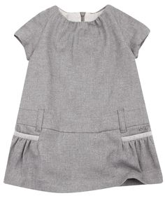 Baby Grey Jacquard Dress, Chloé Kids. Shop more dresses from the latest Chloé Kids collection online at Liberty.co.uk