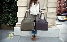 the perfect carry on. Lo & Sons o.m.g - overnight & medium gym bag