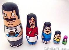 Bob's Burgers Nesting Dolls