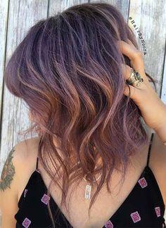 Short Hairstyles for Women: Pastel Bob