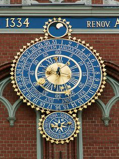 Astronomical Clock, House of Blackheads ~ Riga, Latvia
