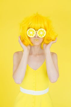 Shades Of Yellow Color Names For Your Inspiration - Going To Tehran Image Tumblr, Cat Tiger, Mode Monochrome, Yellow Lipstick, Shooting Studio, Portrait Photography, Fashion Photography, Candy Photography, Yellow Photography