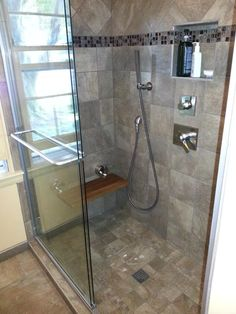 Converted tub to relaxing shower!