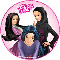 Fulla the first doll inspired from the Arabic culture .
