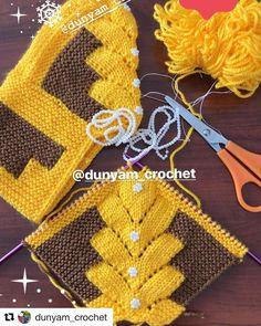 Best 12 👍💐❤️ Dunyam_crochet with ・・・ Boncuk işledim… – Crochet Motif, Crochet Flowers, Knitting Socks, Baby Knitting, Knitting Projects, Knitting Patterns, Knit Baby Sweaters, Knitted Slippers, Crochet Shoes