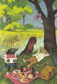 1966. Dick Cuffari, illustrator. Grosset & Dunlap. Kenneth Grahame Society