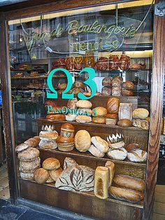 Bread shop near Grand Place, Brussels, Belgium by drpimento, via Flickr