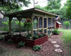 Chicken Coop - Chicken Coop Ideas and Plans. Click Image To See All The Great Plans. Building a chicken coop does not have to be tricky nor does it have to set you back a ton of scratch.