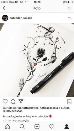 Awesome cute tattoos are available on our website. Read more and you wont be sorry you did. Mini Tattoos, Love Tattoos, Beautiful Tattoos, Body Art Tattoos, New Tattoos, Small Tattoos, Tattoos For Women, Tatoos, Awesome Tattoos