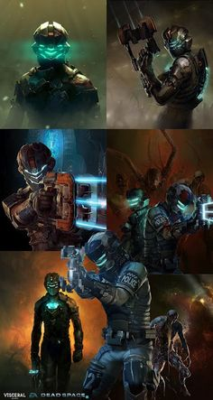 bjornhurri-dead-space-2-illustrations
