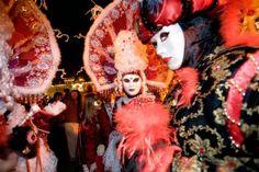 Venezianische Messe für Besucher aus Nah und Fern