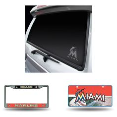 Miami Marlins MLB 3 Piece Auto Detail Pack