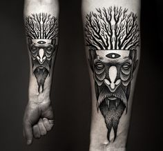 Powerful And Bold: Mesmerizing Black Ink Tattoos - DesignTAXI.com