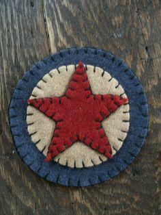 Great simple little patriotic penny felt