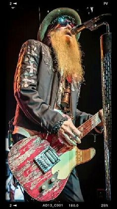 Billy Gibbons, Zz Top Band, Rock And Roll History, Heavy Rock, Texas, Rock N Roll Music, Reverend Guitars, Rock Legends, Blues Rock