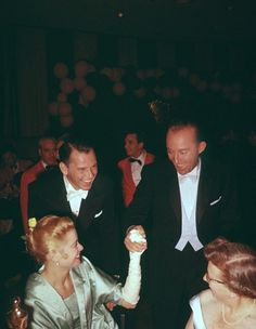 Frank Sinatra, Grace Kelly, and Bing Crosby