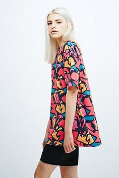 Textile Federation Carousel Oversized Tee - Urban Outfitters