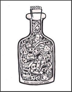 kolorowanki antystresowe - doodle invasion