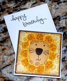 Clearly Southern Stampin': Hear Me Roarrrr!