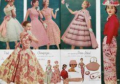 1950s Alden's dresses 1950s Fashion Women, Vintage Fashion, Womens Fashion, 50s Dresses, Vintage Dresses, Pin Up Style, Mid Century Style, Vintage Advertisements, Catalog