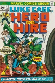 Luke Cage, Hero for Hire 8, April 1973